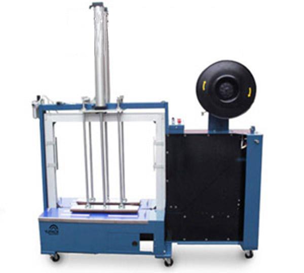 中山纸箱打包机豪华型高台自动打包机操作方法