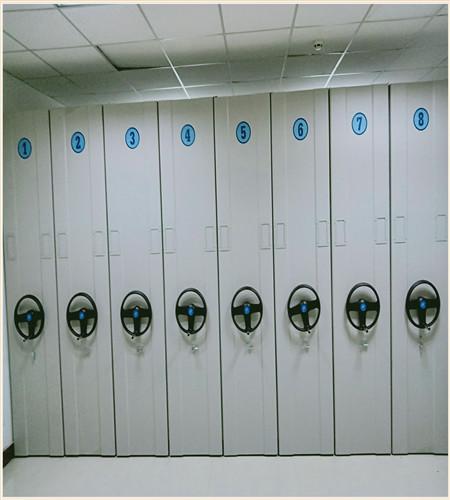 驻马店档案室用移动密集柜安全可靠