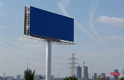 凉山高炮广告安装公司--恒科钢构