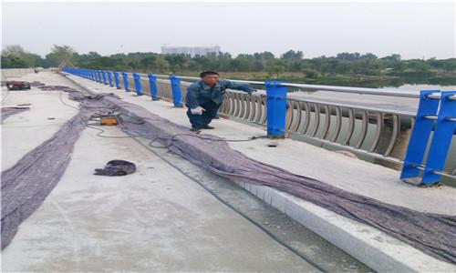 日照碳素钢复合管河道景观护栏大量加工